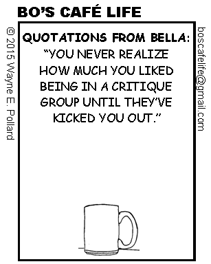 Quotations from Bella-Kicked Out